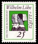 Stamps Germany -  Wilhelm Löhe