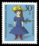 Stamps : Europe : Germany :  Puppe um 1885