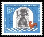 Stamps : Europe : Germany :  Frau Holle
