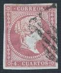 Stamps Europe - Spain -  Isabel II. - Edifil 48