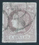 Stamps Europe - Spain -  Isabel II. - Edifil 56