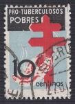 Stamps Spain -  Pro Tuberculosos pobres. - Edifil 840