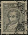 sellos de America - Argentina -  Mariano Moreno.  1778 - 1811. Abogado, periodista y político de las Provincias Unidas del Río de la