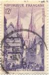 Stamps France -  Quimper