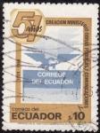 Sellos de America - Ecuador -  51 AÑOS DE LA CREACION DEL MINISTERIO OBRAS PUBLICAS YCOMUNICACIONES