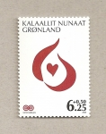 Stamps Greenland -  Lucha contra el Cancer