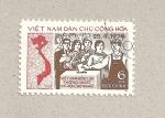 Sellos de Asia - Vietnam -  votación