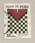 Sellos de America - Perú -  Tejido imperial inca