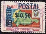 Stamps Ecuador -  timbre orientalista