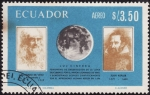 Stamps Ecuador -  Luz Cinerea(fenómeno de observación de la luna)
