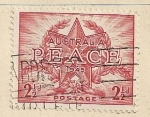 Stamps Oceania - Australia -  Paz