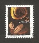 Stamps : America : Canada :  trabajando el cuero