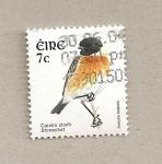 Stamps Ireland -  Ave Saxicola torquata