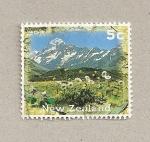 Sellos de Oceania - Nueva Zelanda -  Monte Cook