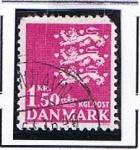 Stamps Denmark -  Leones