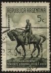 Stamps America - Argentina -  Monumento al Teniente General Julio A. Roca en Buenos Aires.