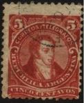 Stamps Argentina -  Bernardino Rivadavia. 1780 – 1845 Político, de las Provincias Unidas del Río de la Plata.