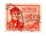 sellos de Europa - Noruega -  TRICENTENARIO DE LA POSTE DE NORUEGA