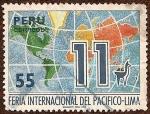 Sellos de America - Perú -  11 Feria Internacional del Pacífico - Lima