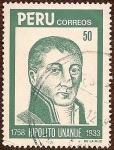 Stamps America - Peru -  Hipólito Unanue, 1758 - 1833