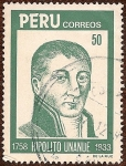 Stamps of the world : Peru :  Hipólito Unanue, 1758 - 1833