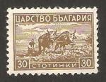 Sellos de Europa - Bulgaria -  trabajando en el campo