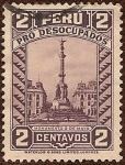 Stamps Peru -  Monumento 2 de Mayo