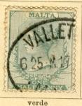 Sellos del Mundo : Europa : Malta : Posesion Inglesa edicion 1885