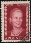 Sellos del Mundo : America : Argentina : Eva Perón.