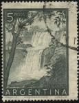 Sellos de America - Argentina -  Parque nacional de Iguazú. Las cataratas del Iguazú, provincia de Misiones.