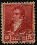 Sellos del Mundo : America : Argentina : General Bernardino Rivadavia. 1780 – 1845.Fue Presidente de las Provincias Unidas del Río de la Plat