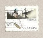 Sellos de America - Canadá -  Grandes lagos, bosque de Lawrence
