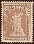 Stamps Peru -  Pro-Desocupados
