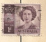 Stamps Oceania - Australia -  Reina Isabel II