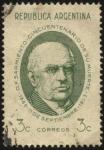 Sellos del Mundo : America : Argentina : 50 años de la muerte de Domingo Faustino Sarmiento 1811-1888. Presidente de la Nación Argentina desd