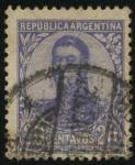 Sellos del Mundo : America : Argentina : Libertador General San Martín. 1778 - 1850. Militar argentino, cuyas campañas fueron decisivas para