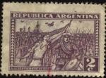 Sellos de America - Argentina -  6 de septiembre de 1930. Militares comandados por el general José Félix Uriburu y Agustín P. Justo,
