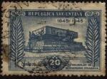 Stamps America - Argentina -  Mausoleo de Bernardino Rivadavia, primer presidente de Argentina, ubicado en la Plaza Miserere de Bu