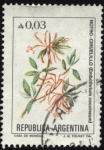 Stamps Argentina -  Flor de Notro- Ciruelillo