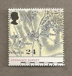Stamps United Kingdom -  Mapas Gran Bretaña