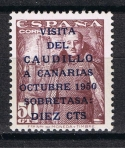 Stamps Europe - Spain -  Edifil  1083 A  Visita del Caudillo a Canarias.