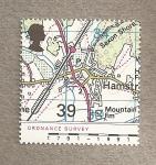 Sellos de Europa - Reino Unido -  Mapas Gran Bretaña