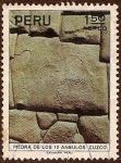 Sellos de America - Perú -  Piedra de los 12 Ángulos - Cuzco