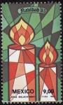 Stamps Mexico -  NAVIDAD 83