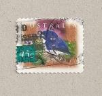 Sellos de Oceania - Australia -  Ave Mart�n pescador