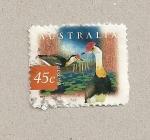 Sellos de Oceania - Australia -  Jacana