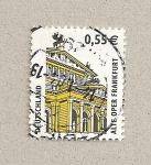 Stamps Germany -  Antigua ópera de Frankfurt
