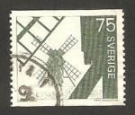 Stamps : Europe : Sweden :  molinos de viento en la isla de oland