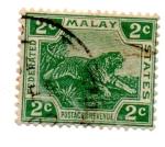 Stamps Asia - Malaysia -  -ESTADO FEDERATIVO MALAYO-1901