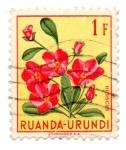 Stamps Africa - Rwanda -  --RUANDA-URUNDI-FLORA/FAUNA